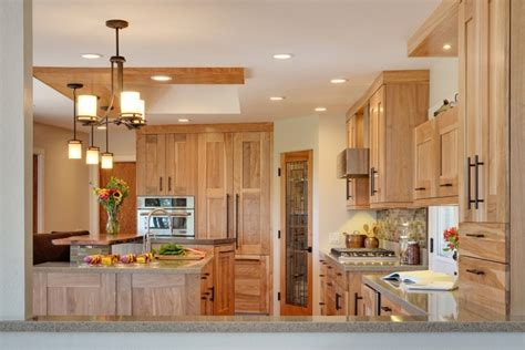 Natural Kitchen Design 33 best ideas hickory cabinets for naturally beautiful