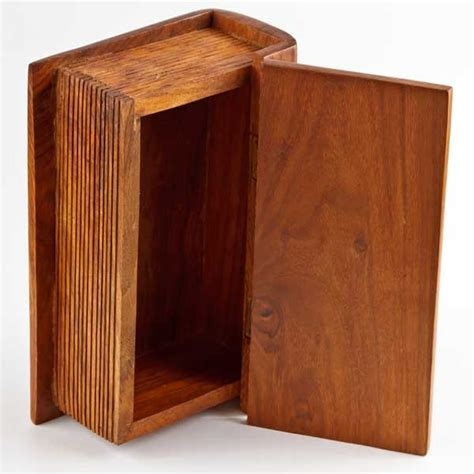 wooden book boxes wooden book trinket box