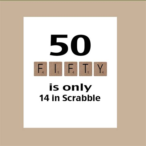 is ey a word in scrabble 50th birthday card milestone birthday scrabble birthday