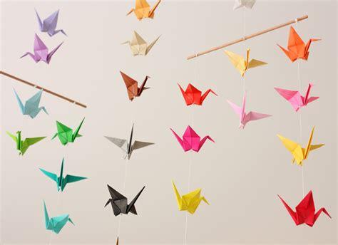 origami crane origami crane mobile