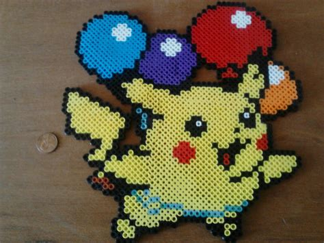 pikachu perler flying pikachu perler by perler pop on deviantart