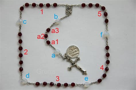 sacred rosary chaplet of the sacred