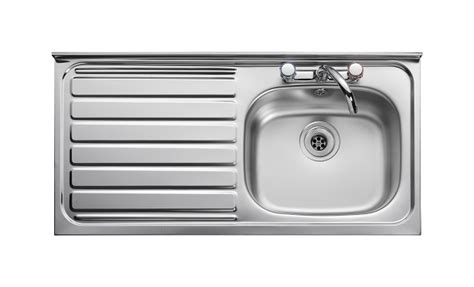 leisure kitchen sink leisure contract lc105l 1 0 bowl 2th stainless steel