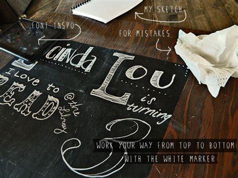 chalkboard diy birthday diy birthday stats chalkboard ideas