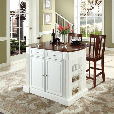 white kitchen island breakfast bar diy kitchen island drop leaf