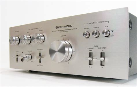 What Is Tech Deck by Kenwood Ka 3500 Stereo Integrated Amplifier Mike S