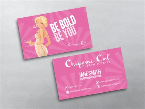 origami owl business cards origami owl business card 09
