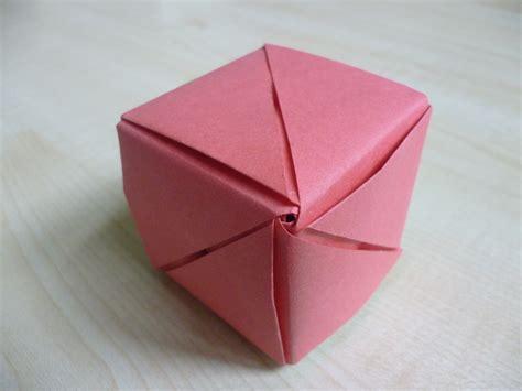 origami magic cube easy origami magic cube comot