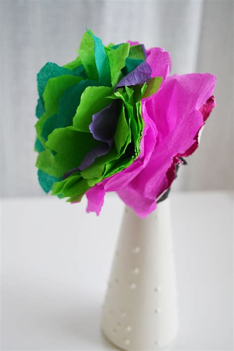 pretty paper crafts craft how to make pretty paper flowers checks and