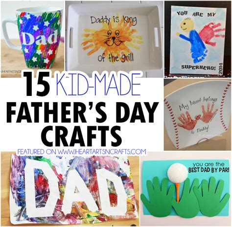 crafts for for fathers day 15 kid made s day crafts i arts n crafts