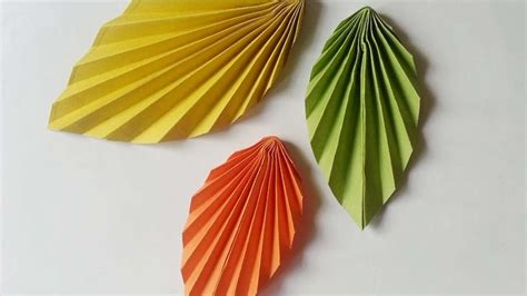 paper leaves craft how to create easy and paper leaves diy crafts