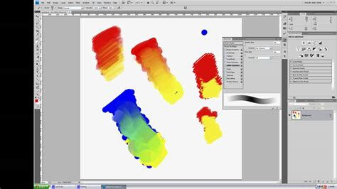 how to color in photoshop how to blend colors and paint in photoshop
