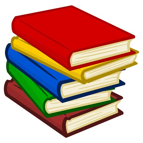 book pictures clip clipart books coloured
