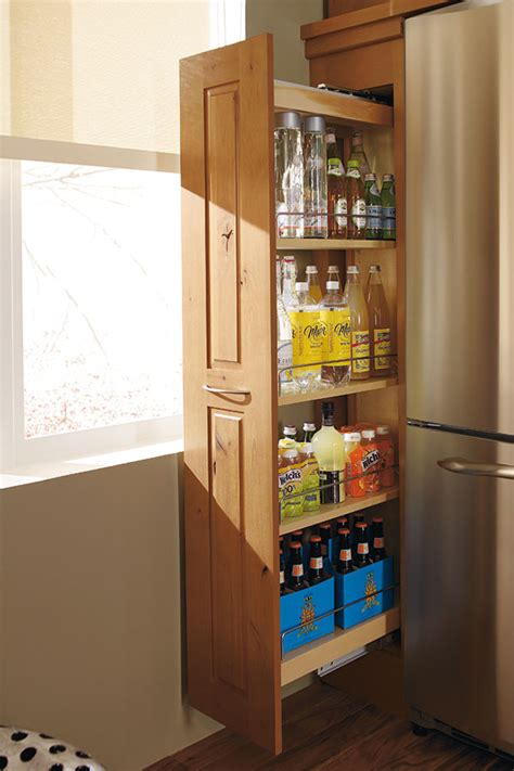 pull out cabinets kitchen pantry pantry cabinet pull out decora cabinetry