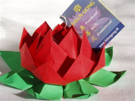 origami lotus blossom how to make an origami lotus flower dıy tutorial