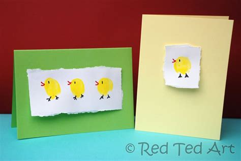 easter cards to make for children craft post easter cards ted s