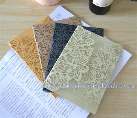 laser cutter for paper crafts laser cut paper crafts colorful wedding invitations