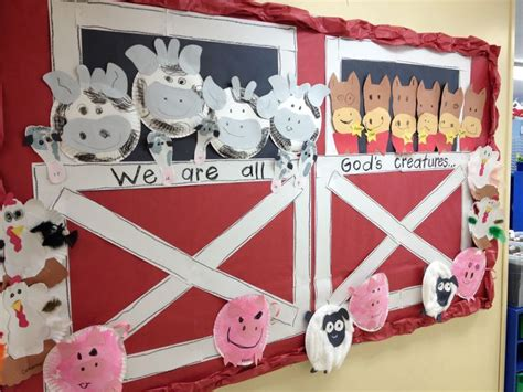 farm animal crafts for 9 best big barn images on animals