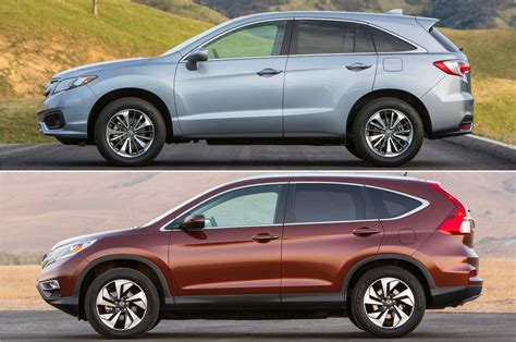 Mazda Cx 5 Compared To Honda Crv by Rdx Vs Cr V 5 Reasons To Splurge On The Acura And Honda