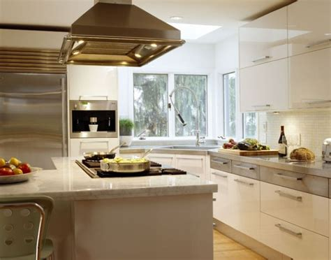 corner kitchen sink designs ergonomic contemporary kitchen in white with a stylish