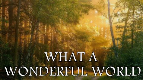 wonderful world sharm what a wonderful world louis armstrong patron