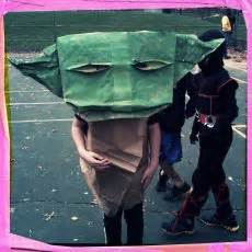origami yoda costume 1000 images about library ideas silly librarian on