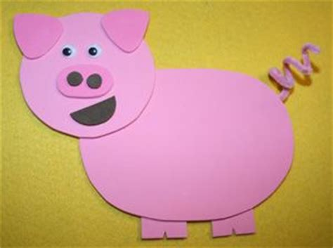 construction paper crafts for 2 year olds best 20 pig crafts ideas on plastic piggy