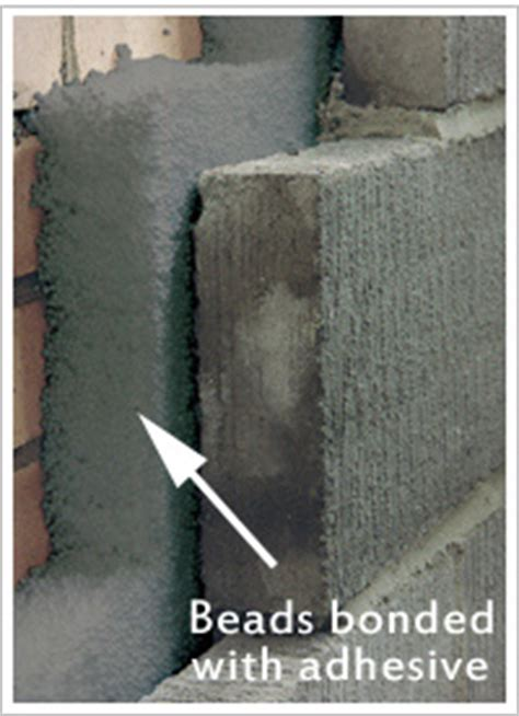 Cavity Wall Insulation Cavity Walls Pumped With Bonded