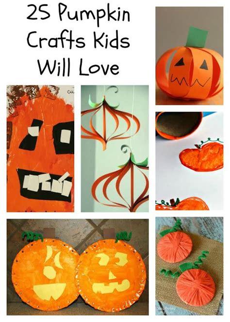 pumpkin crafts for easy pumpkin crafts for for preschool and beyond