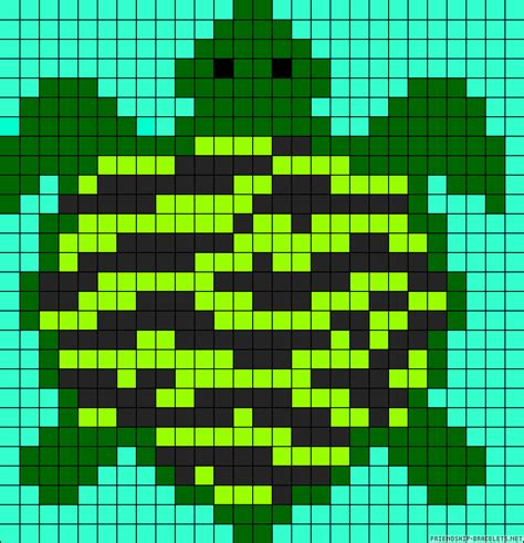 perler bead turtle pattern turtle perler bead pattern perler bead patterns