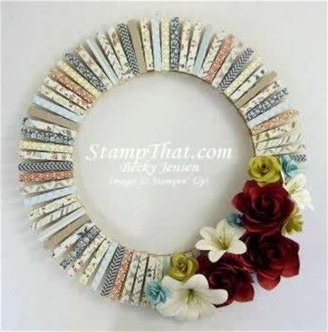 handmade decoration handmade home decor wreath card stock flowers comfort