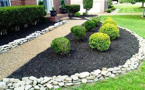 rocks for garden edging 30 brilliant garden edging ideas you can do at home