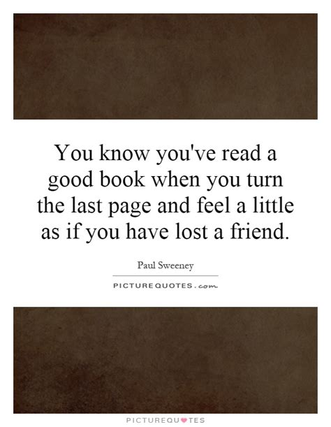 read last you you ve read a book when you turn the last
