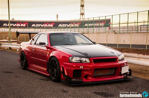 Skyline Gtr R 34 by Wallpaper Attkd R34 Nissan Skyline Gt R Farmofminds