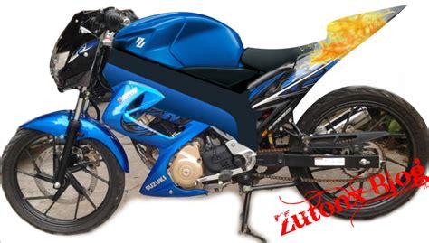 Modifikasi Motor Fu by Modifikasi Motor Suzuki Satria Fu 150