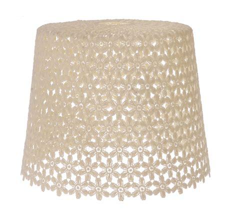 knitted light shade vtg retro crochet ceiling light l shade knitted