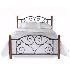 footboard bed frame new king size metal wood mattress bed frame