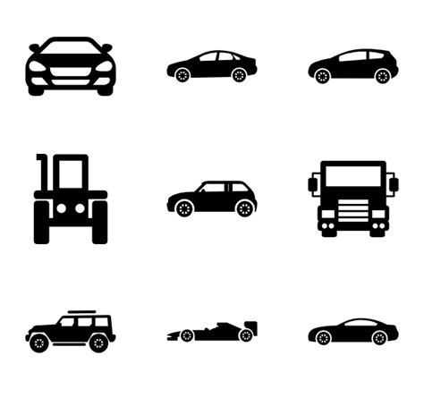 Car Desktop Icons by Car Icons 13 716 Free Vector Icons