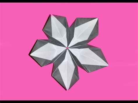 cool origami flower simple origami flower kusudama how to make origami