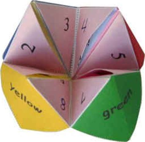 what is origami paper called 25 best ideas about paper fortune teller on