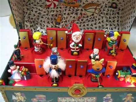 animated toys santa s musical chest cool musical animated
