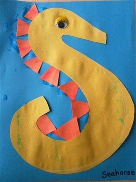 S Is For Seahorse Preschool Items Juxtapost