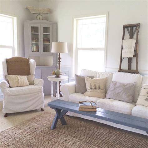 Farmhouse Livingroom little farmstead creating a farmhouse style living room