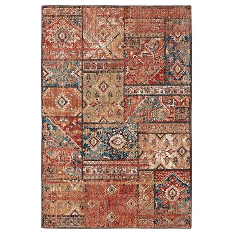 mohawk home gemma gold 5 ft x 7 ft area rug 564704 the