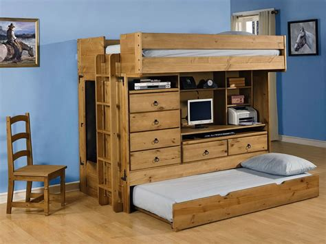 bunk beds and desk combos breathtaking bunk bed with drawers and desk desk