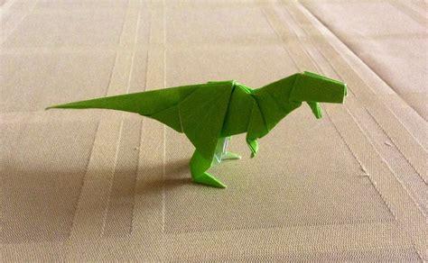 Origami Tyrannosaurus Rex By Kazikasaurus On Deviantart