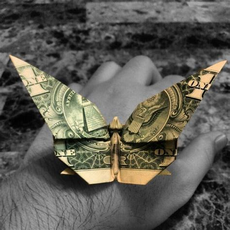 origami butterfly dollar origami butterflies and origami butterfly on