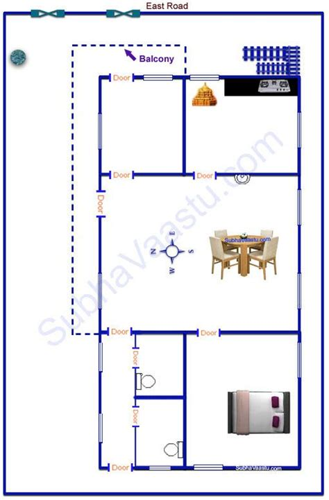 vastu plans for house east facing vastu house plan subhavaastu