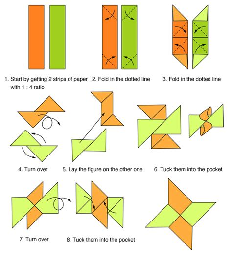 how to make a origami shuriken origami folding origami