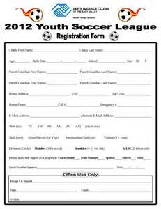 5 best photos of soccer player registration form youth